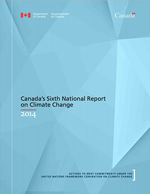 Canadas Sixt National Report on Climate Change
